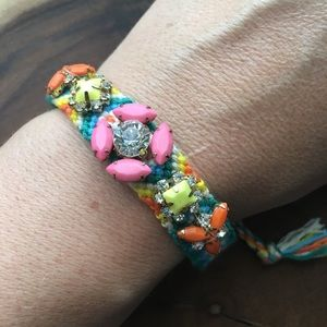 Jewelry - Friendship Bracelet Adjustable w Gems